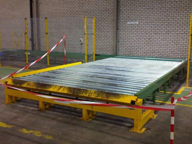 Zware pallet rollerbanen | amtgroup.nl