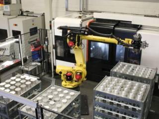 Robot automatisering verspanen |  amtgroup.nl