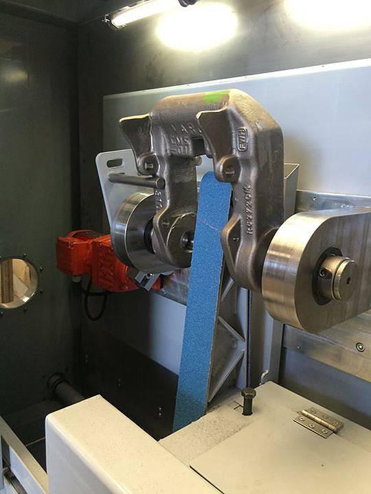 Machinebouw Latch grinder | amtgroup.nl