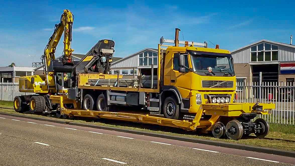 Special Railtrailer (MODUL-SEFA) (59 Ton) | amtgroup.nl