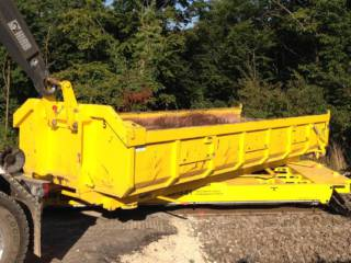 Railtrailer ECTS Draaiframe