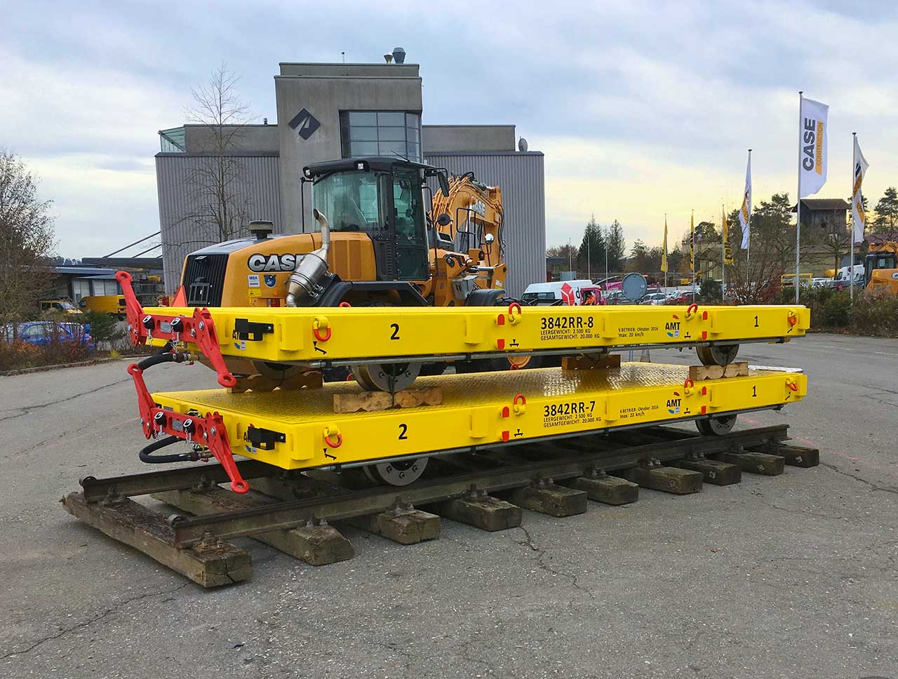 Railtrailers / Flatlorries