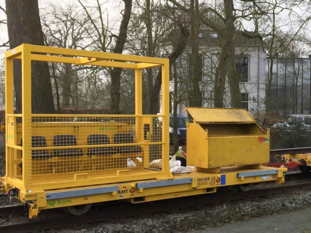 Railtrailer personentransport