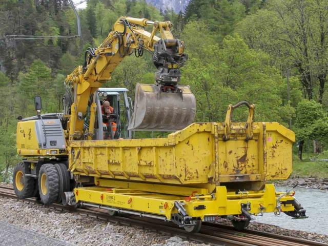Railtrailer/Lorrie