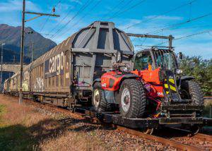 spoorwegmachine trensformer