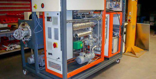 Machinebouw warmte wissel-installatie | amtgroup.nl