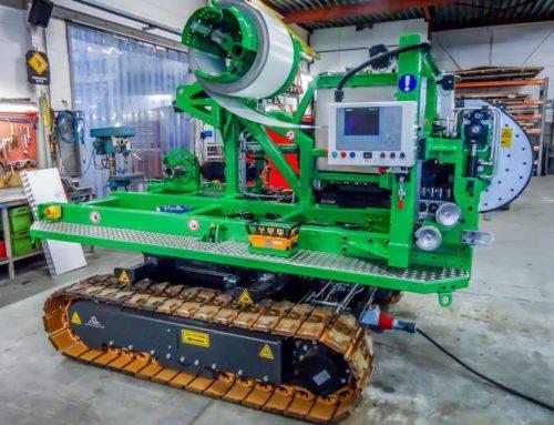 3 Machines à former les gouttières pour les systèmes Meteor