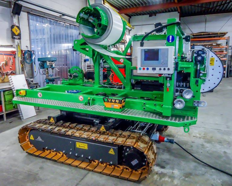 Machinebouw gotenvormer oplevering | amtgroup.nl