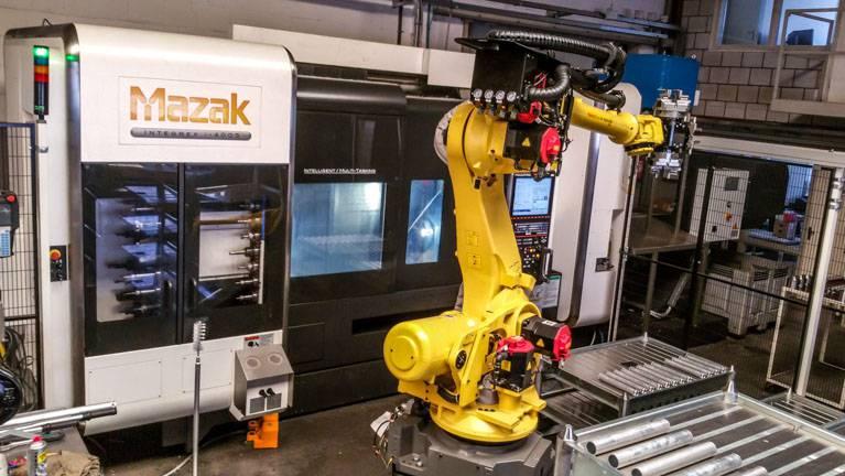 Metal technology robot automatic machining | amtgroup.nl