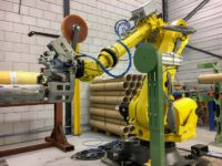 Production automation with robots