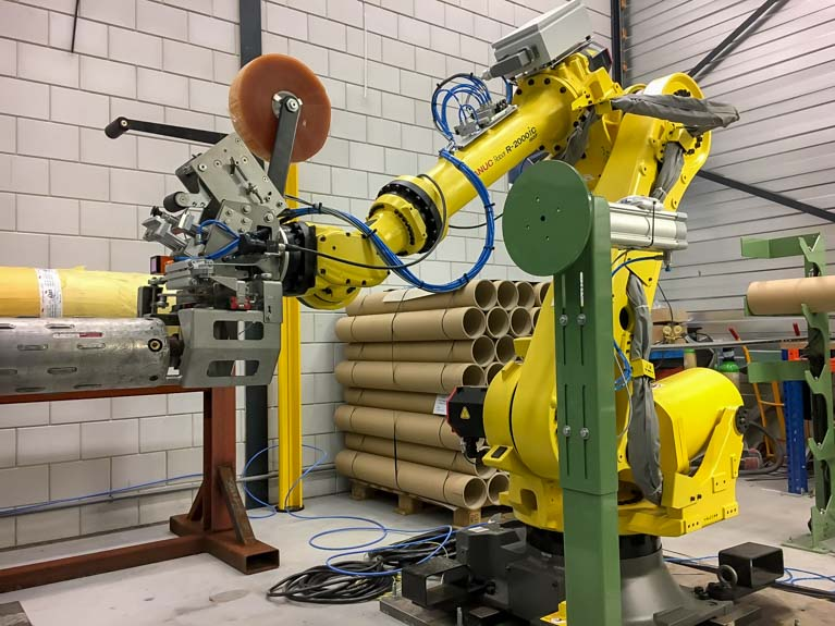 Productieautomatisering robots