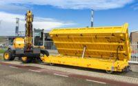 Rail sidetipper 3 way
