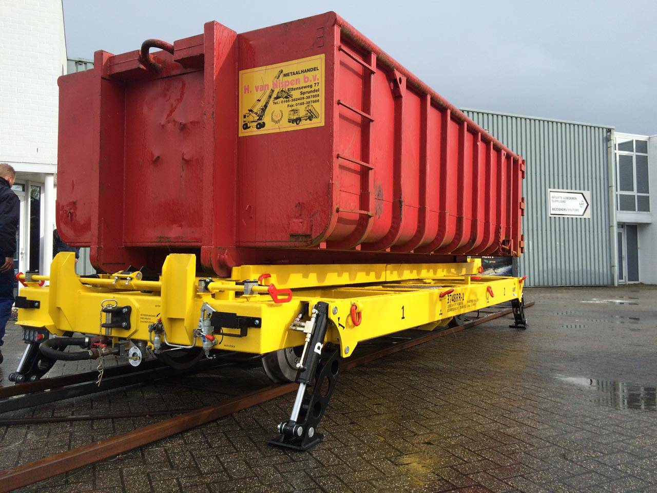 Rail Trailers Flat Lorries Portfolio And Specifications