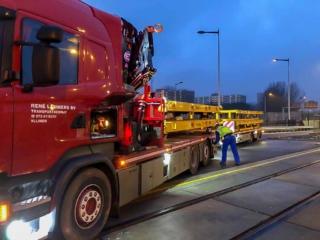 Railtrailer levering