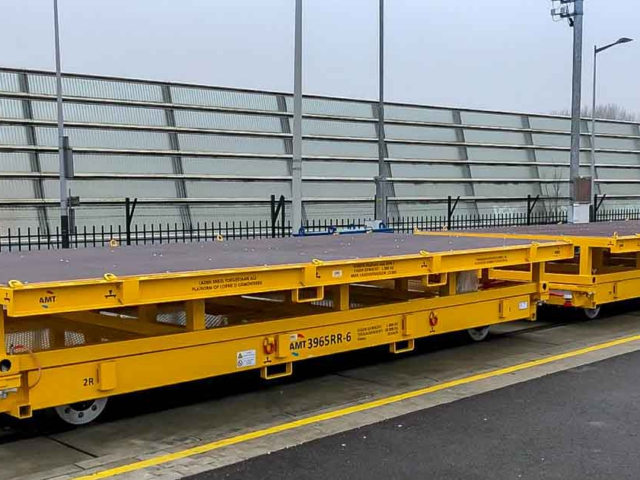 Railtrailer levering