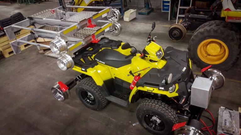 Rail ATV Railable