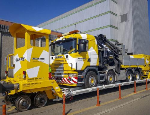 SEFA Modular rail trailer