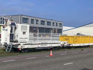 Special Railtrailer (MODUL-SEFA) (59 Ton)   amtgroup.nl