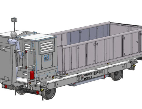 Construction of new self-propelled trailer