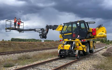 Manitou rail conversion