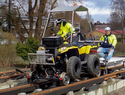 Rail Quad delivery Helsinki