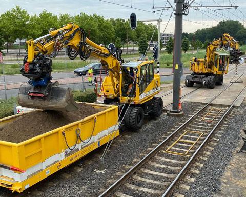 Rail Excavators