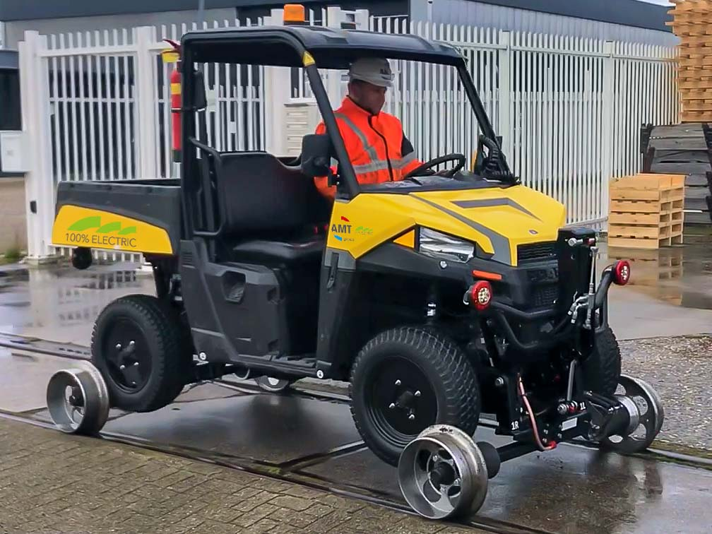 Rail Road buggy electric