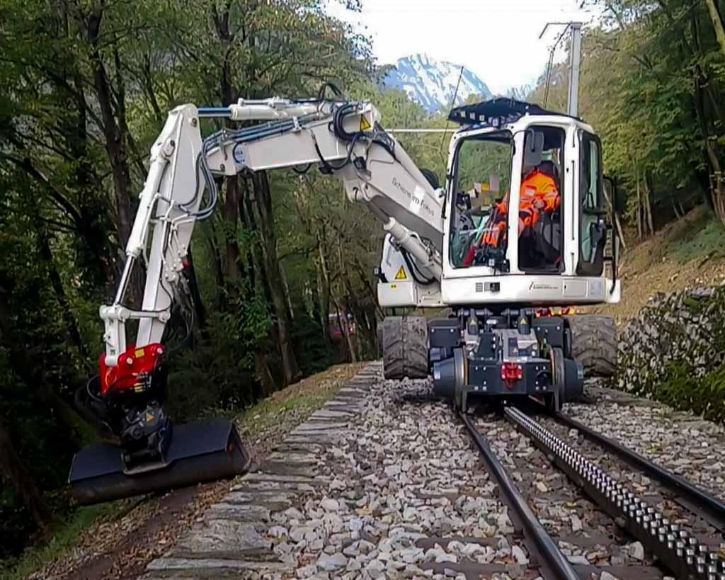 Rail Road Track spheres
