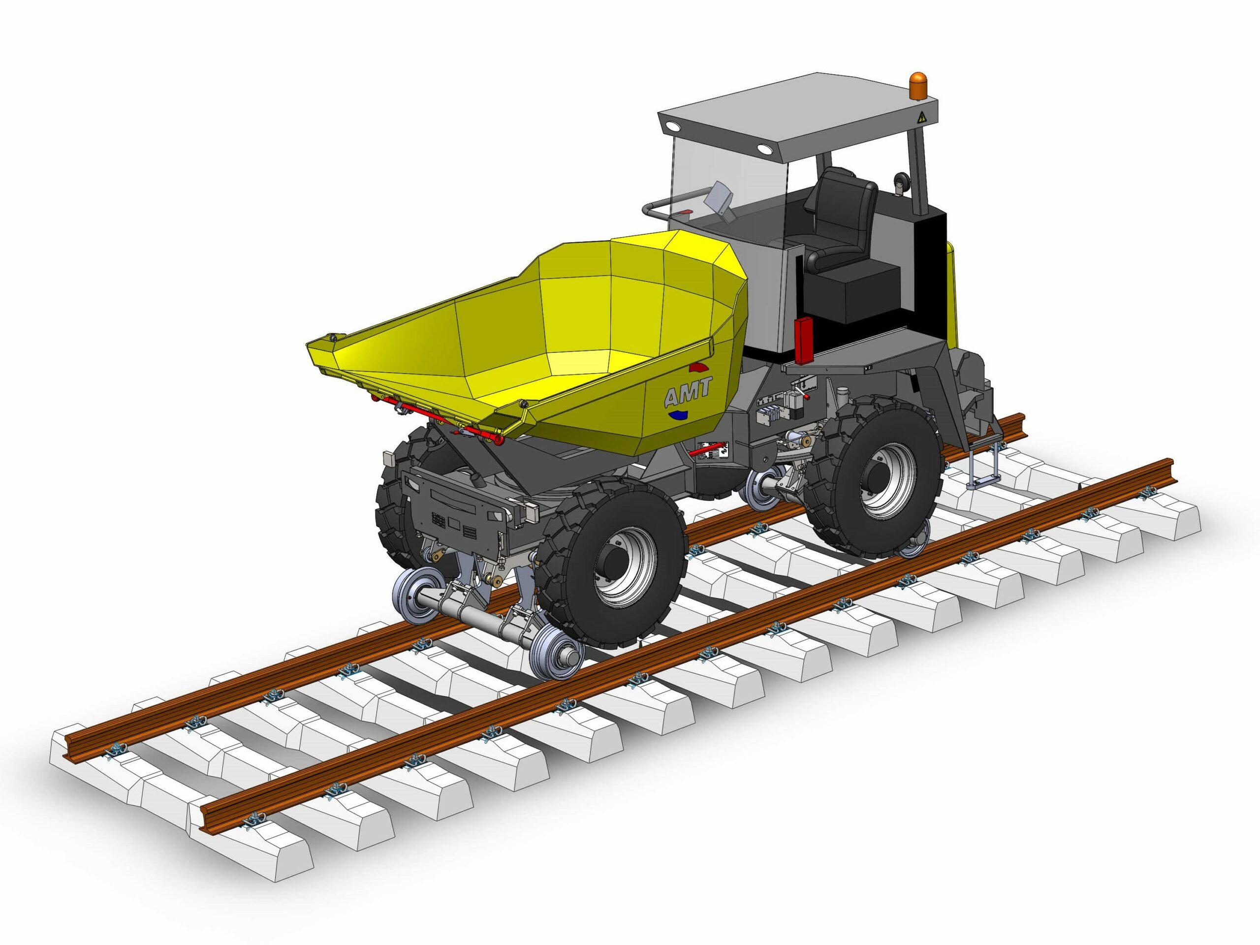 Rail dumper