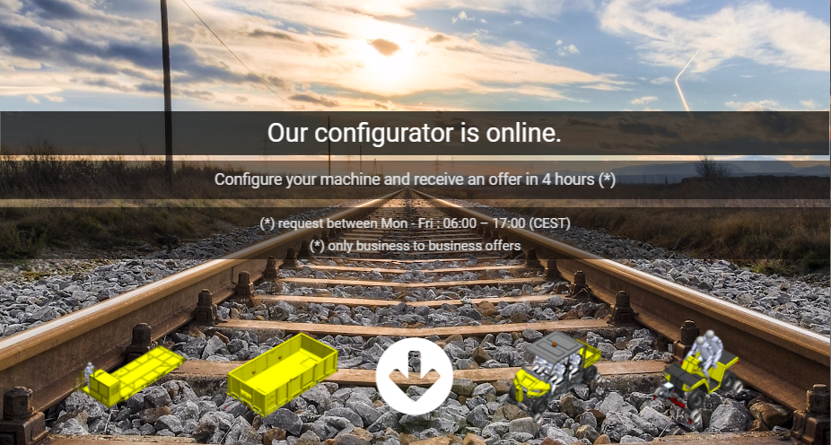 Online configurator AMT Group