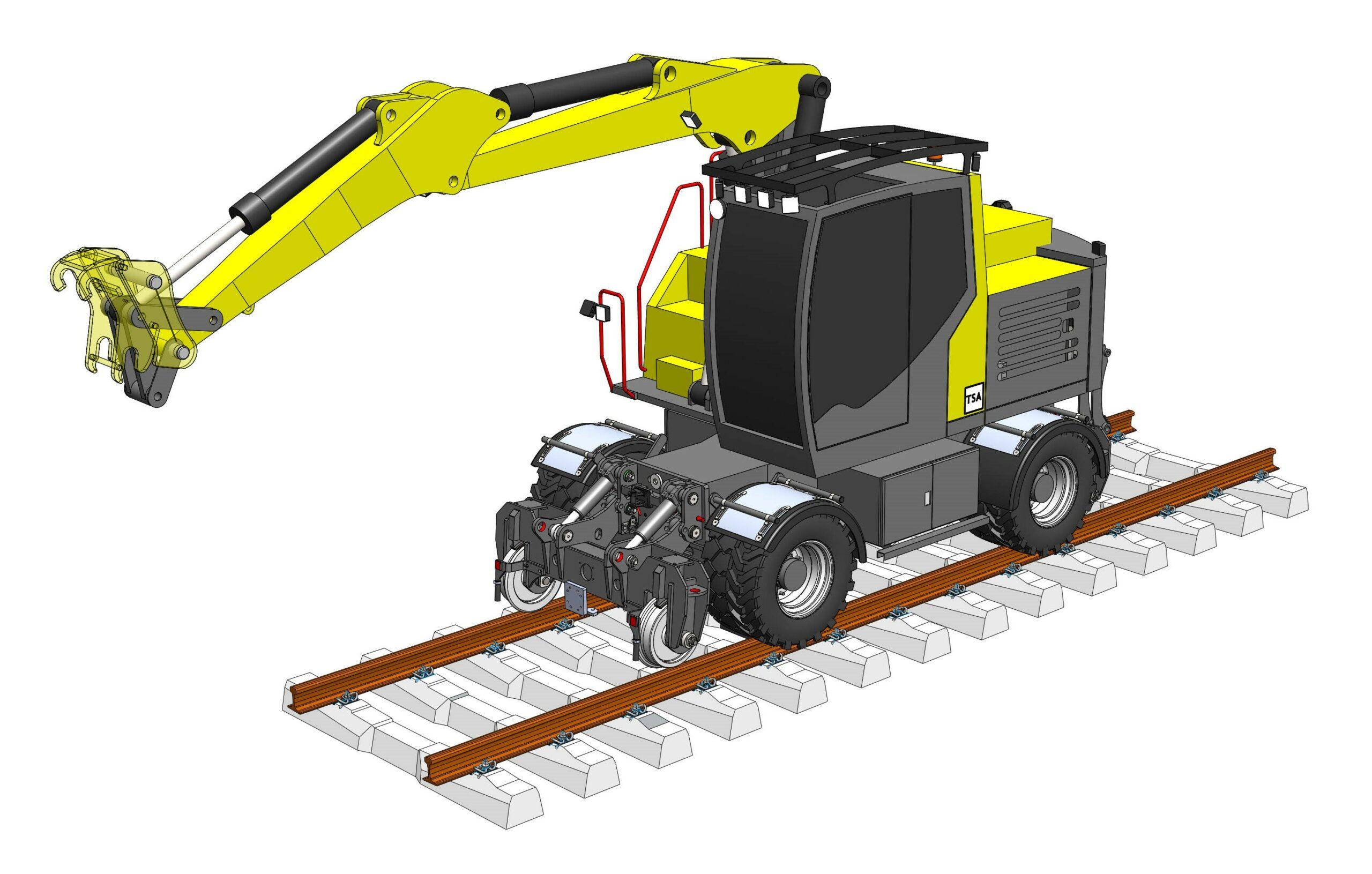 Rail Road excavators