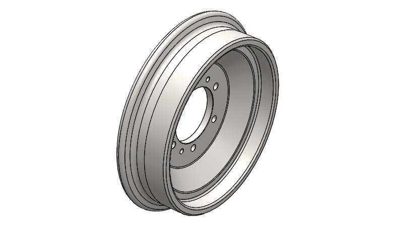 railway wheels parts