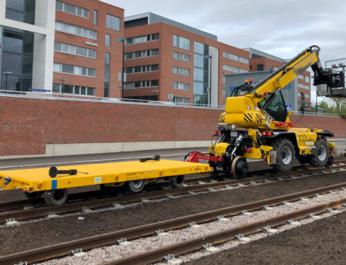 New type lightweight rail trailers